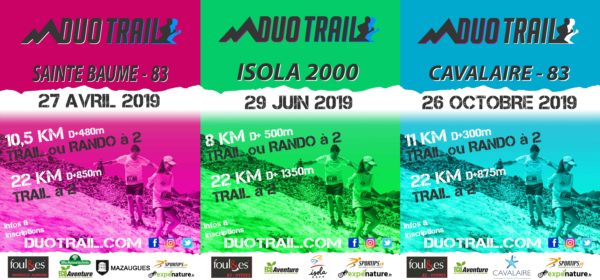 Affiches DUO TRAILS 2019