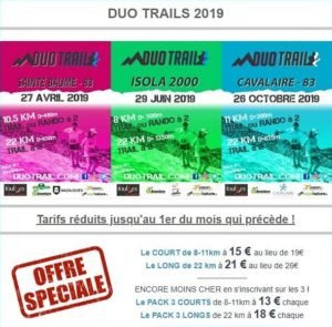DUO TRAILS 2019
