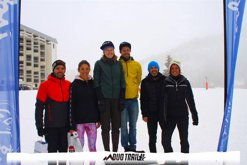 Podium Résultats SNOW-DUO-TRAIL-MERCANTOUR-ISOLA-2000